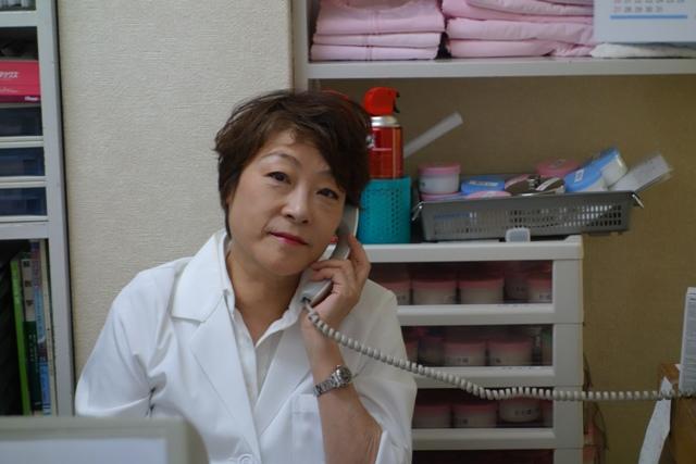 辻角鍼灸師