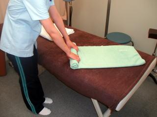 タオル枕作製写真2