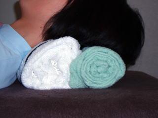 タオル枕作製写真5